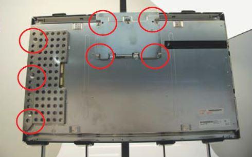 Egy 30 coll-os LCD Panel szétszerelése